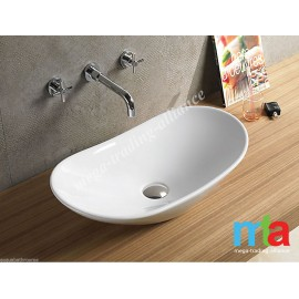 ART BASIN - OVAL SHAPED BASIN