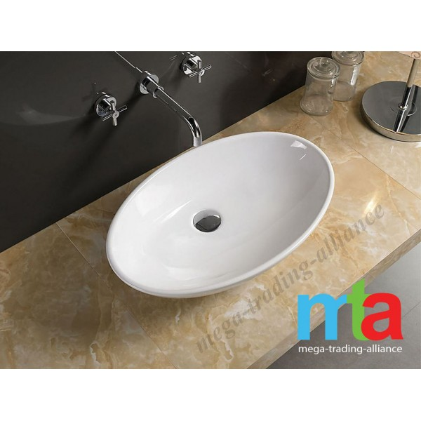 ABOVE COUNTER ART BASIN - MODERN ROUND BASIN