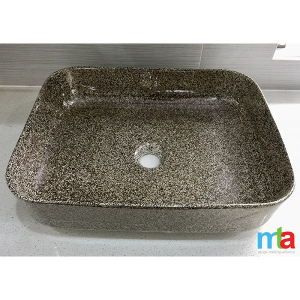 ABOVE COUNTER BASIN - DESIGNER BASIN / SQUARE