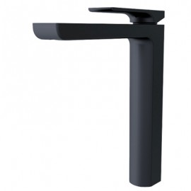 Astra Tall Basin Mixer Black