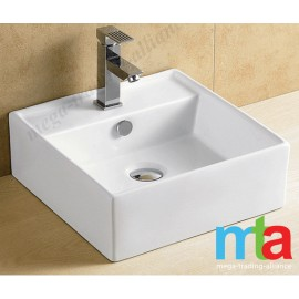 BASIN - MODERN DESIGN SQUARE COUNTER BASIN